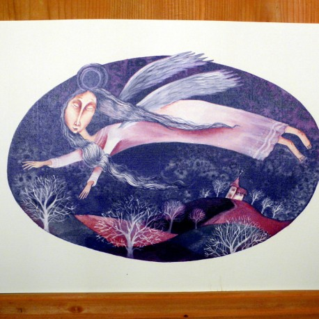 Reprodukce Akvarel