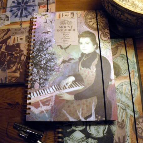 Poetický deník Lucie Čapkové